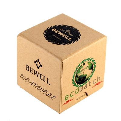 Qoo10 Bewell Mini Square Cardboard Watch Box Wristwatch Case Cute