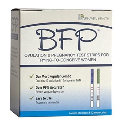 BFP Ovulation & Pregnancy Test Strips?? Made in N  America?? 40 LH  Ovulation & 10 hcg Pregnancy Test