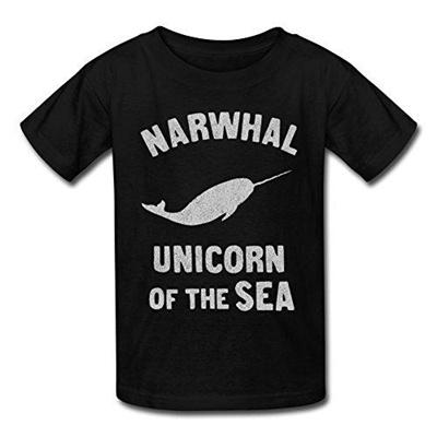 92675a155 Qoo10 - (bibisc)/Men/T-Shirts/DIRECT FROM USA/Bibisc Teen Narwhals Unicorn  Of ... : Sportswear