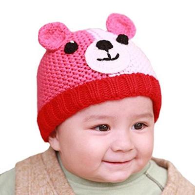 Qoo10 - (BIBITIME) BIBITIME Knitted Dog Ear Beanie Baby Winter Hat Crochet  Eye...   Pet Care 744a56f64d8