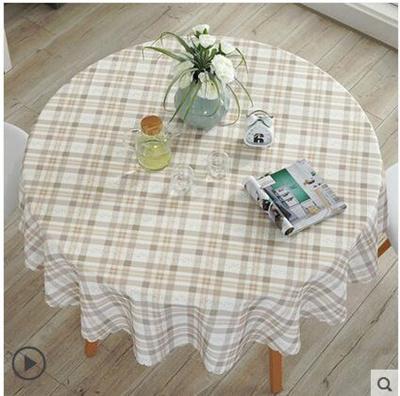 Big Round Tablecloth Waterproof And Hot Oil Disposable Small Round Coffee  Table Cloth Tablecloth Cot