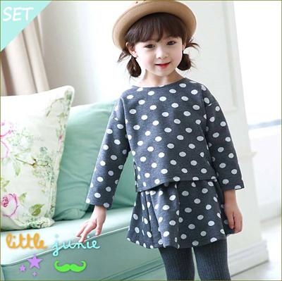 cbd7e774b Qoo10 -  Bigarden  Korean Children s Clothing Girls Fall Winter ...