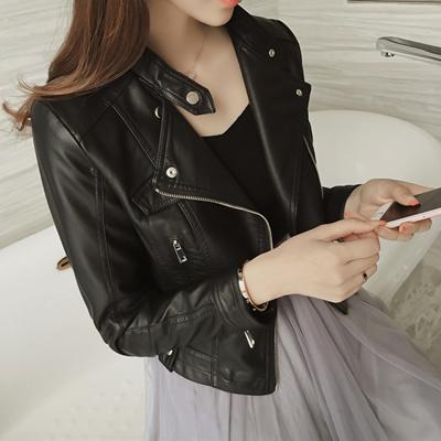 99687a72 Biker Jacket PU Leather Jacket/Outerwear/Fashion  Jacket/Jackets/Top/Coat/Korean Fashion Women Jacket