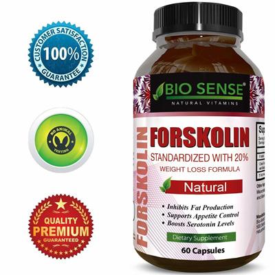Bio Sensebio Sense Best Forskolin Weight Loss Supplement For Men And Women Coleus Forskohlii Extract Standard