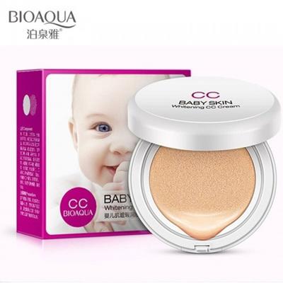 Bioaqua Cc Cream Air Cushion Baby Skin Whitening