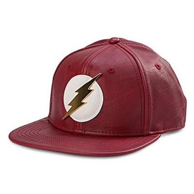 543a936ce7cb30 Qoo10 - Bioworld Official- DC Comics Flash- Faux Leather Snapback Hat- One  Siz... : Fashion Accessor.