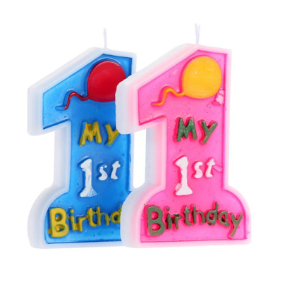 Birthday Cake Candle My 1st Kids First One Anniversary Party Decorwinmoney