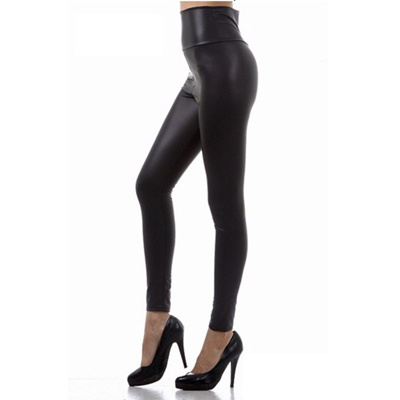 6c3b41da954c59 Qoo10 - Faux Leather Legging : Women's Clothing