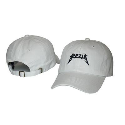 b4b4f5ec Black letter Yeezus Cap Hat Men Snapback Hip Hop Yeezy 100% Cotton Chapeau  Strapback Snapback