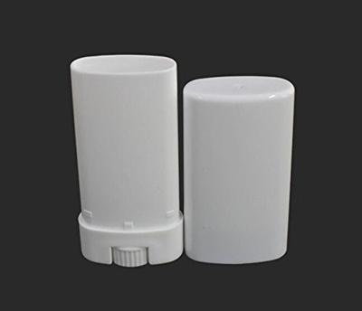 Black Menba® Empty Oval Deodorant Lip Lipstick Balm Tubes Containers Plastic