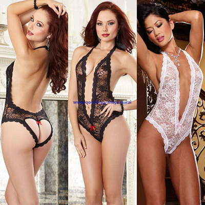 5603da94f Qoo10 - Black Women New Sexy Babydoll Lingerie Lace Dresses Underwear  Sleepwea...   Underwear   Sock.