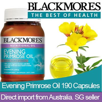 BLACKMORES EVENING PRIMROSE OIL 1000 190 caps EXP 17/11/18 [LOWEST Price