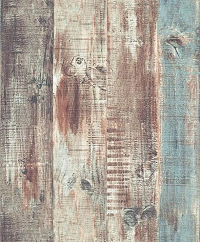 Blooming Wall Vintage Wood Panel Wood Plank Wallpaper Rolls Wall Paper Wall Mural For Livingroom Bed