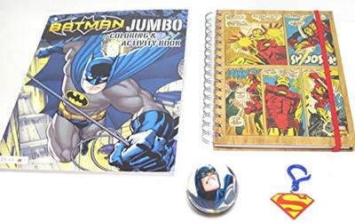 Blue Island Batman Jumbo Coloring And Activity Book Iro Man No 8