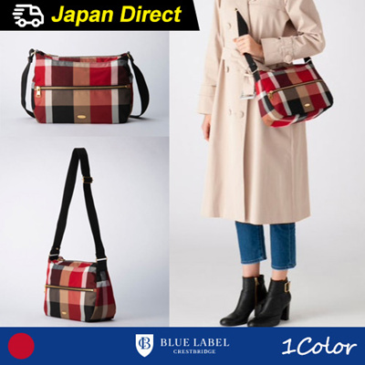 435ae14f7b25 (blue label crestbridge) 2019 S S Crest Bridge Check Shoulder Bag   Japan