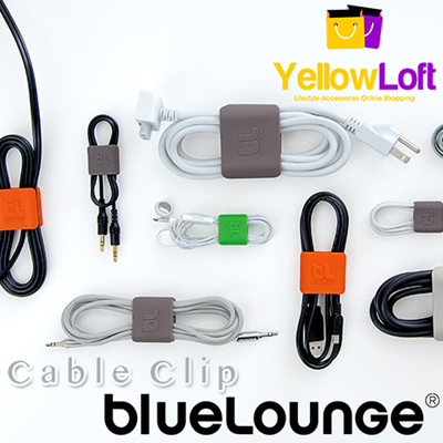 BlueLounge CableClip Cable Managment for home office and on the go.