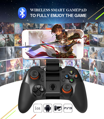 [Stock in Singapore]Bluetooth joystick remote wireless gamepad controller  for smartphone/Virtual Reality (VR) remote controller / Selfie Remote