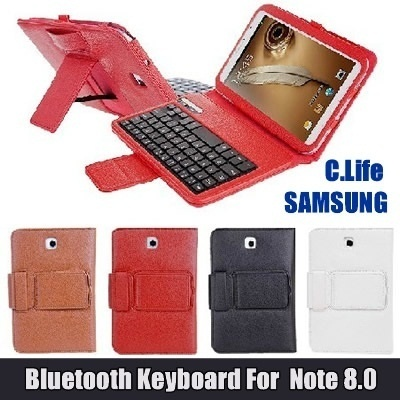 Bluetooth Keyboard Case/Cover For Samsung Galaxy Note 8/8.0/N5100/Note
