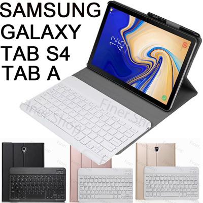 new york b0d5b 0a9a8 Bluetooth Keyboard Case for 2018 Samsung Galaxy Tab S4 10.5 T830 T835 T837  Tab A 10.5 T590 T595
