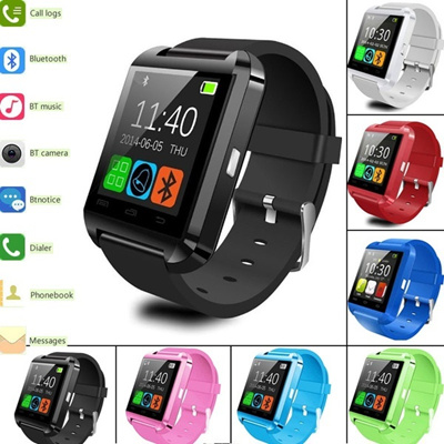 bluetooth smart watch u8 for Apple android phone support camrea men  wristwatch pk u9 gt08 a1 gv18 sm