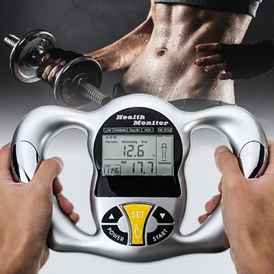 Body Fat Analyzer Monitor BMI Meter Weight Loss Tester Calculator Digital  LCD Display