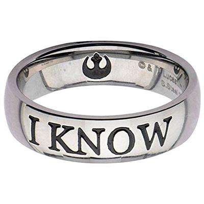 Qoo10 Body Vibe Star Wars I Know Ring