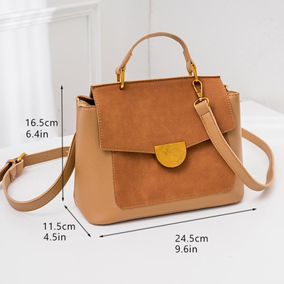 e432fbc0b03c Bolish Female Vintage Dames Tassen Women PU All-Purpose Style Crossbodybag  Lady Causal Shoulder Bag
