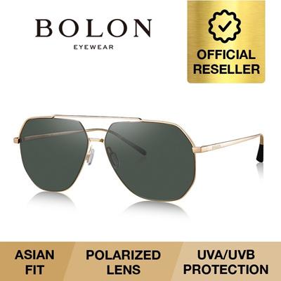 390535394e BOLON BABYLON HD POLARIZED Men Gold Pilot Sunglasses Grey Lenses BL8009   2017 Collection