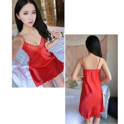0de8deb6a5 Qoo10 - Bolster Store Women Ladies Sexy Lingerie Silk Comfortable Sleep Wear  (...   Underwear   Sock.