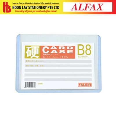 new arrival 4838b 86f22 Boon Lay StationeryALFAX 228HC Hard Card Case B8