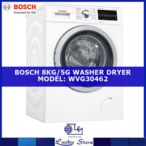 Bosch Washer Dryer 8kg 5kg Capacity Serie 6 Wvg30462sg Local Agent Warranty Free Delivery Price Online In Singapore December 2020 Mybestprice