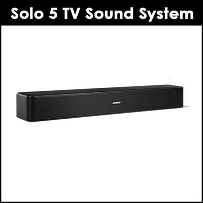 [Bose] #174 Solo 5 TV sound system / Bluetooth Soundbar / With TVLaptop/  remote control /NO GST