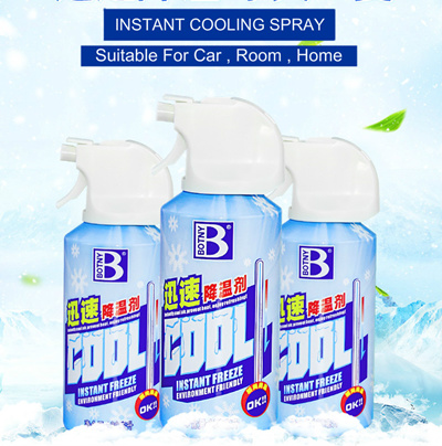 Botny Instant cooling Car Bike Room Home Spray Freeze cooling spray Air con  Car Spray Body Spray