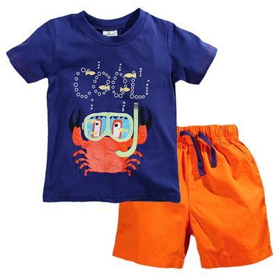 1c59629d1323 Boys 2pc Clothing - 100% Cotton - Soft light and comfortable - Ideal for hot