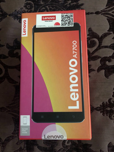 Brand New Lenovo A7700 4G 55 Inch 2GB 16GB Dual Camera