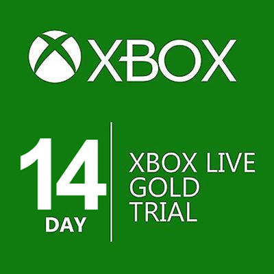 [Microsoft]Brand New Microsoft Xbox Live Gold 14 Days Subscription Digital  Code for Xbox 360 Xbox One