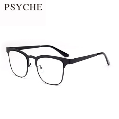 66a48d7bb4 Qoo10 - Brand Spectacle Frame Square Glasses Plain Mirror Fashion Black Eye  Me...   Men s Bags   Sho.