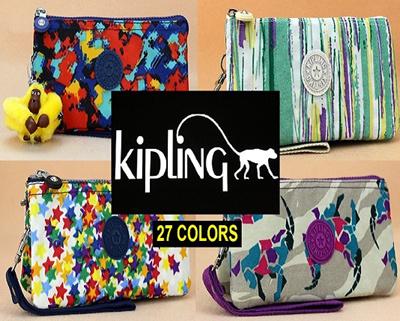 454928ac85fd Qoo10 - Branded Kipling Pouch   Purse   Travel Bag   Christmas Gift    Birthday...   Bag   Wallet
