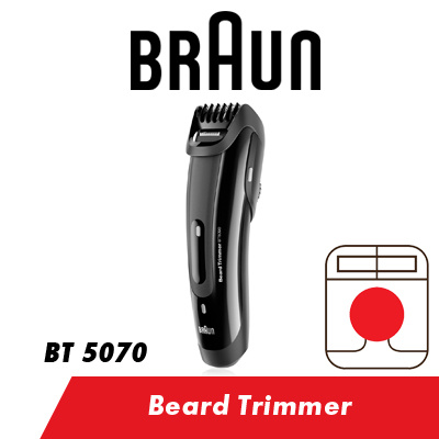 qoo10 braun beard trimmer bt 5070 electric mens beard trimmer shaver diet tools. Black Bedroom Furniture Sets. Home Design Ideas