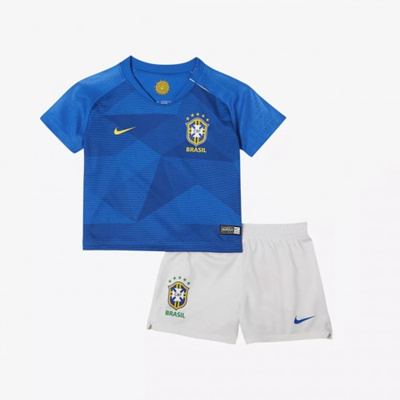 3278970b3 Qoo10 - Brazil Kid Away World Cup 2018 Fans Jersey and Short   Kids Fashion