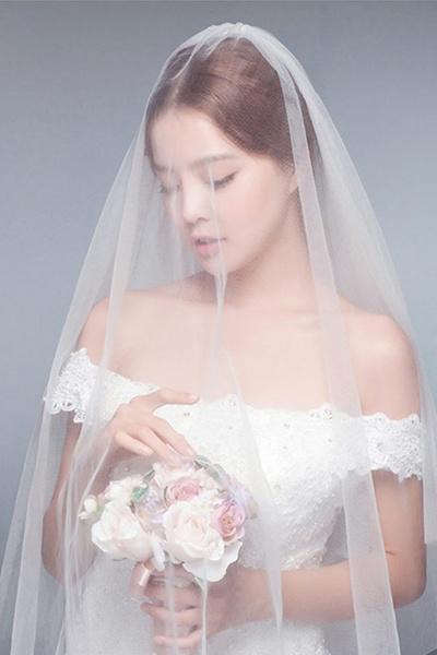 Wedding Dress Accessories.Bridal Veil White Lace Wedding Dress Accessories Simple Hijab Soft Yarn Dress Accessories Wedding Or