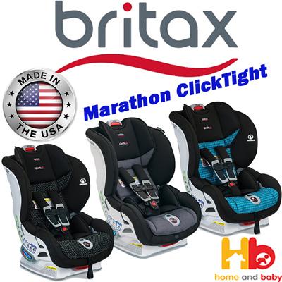 Britax Marathon Click Car Seat 3 Color Available