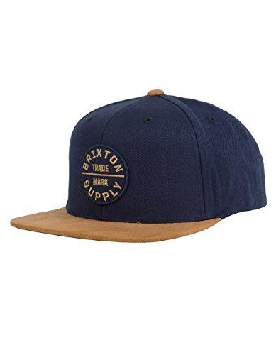 807f6d4a213 Qoo10 - Brixton Mens Oath III Medium Profile Adjustable Snapback Hat ...