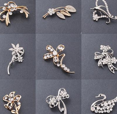 42a8c5b37 Brooch Pin Hari Raya Wedding Bouquet Hat Fashion Accessories Hari Raya Gift  Birthday Present Fabric Pearl