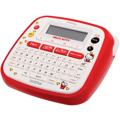 Qoo10 Brother Pt D200kt P Touch Labelling Machine Hello Kitty97