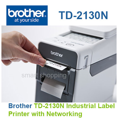 [Brother]Brother TD-2130N Industrial Label Printer with Networking
