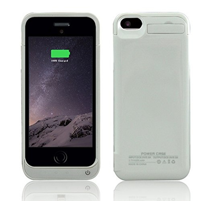 official photos d646f 43a27 BSHW BSWHW iPhone 5c battery charger case,4200mAh External Battery Case  Power Bank for iPhone 5 iPhone 5S