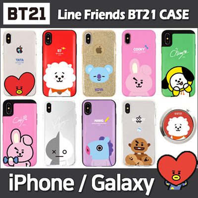 best sneakers 702ae 5c447 BT21★ Line Friends ★ BT21 Jelly/Card/Mirror Case ★ iPhone 6 / 7 / 8 / X /  XS Max / XR ★ Galaxy Note 9 ★