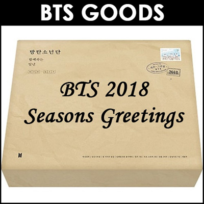 BTSBTS 2018 Seasons Greetings (Bangtan Boys / Beyond The Scene)
