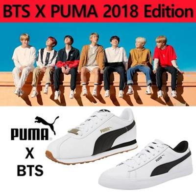 50e4d0b36bc Qoo10 - BTS Official Goods 2018 - PUMA X BTS TURIN Shoes + Photo Card  BANGTAN ...   Sports Equipment